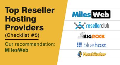 Top hosting providers